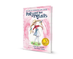 Polly and Her Pigtails 3D-book