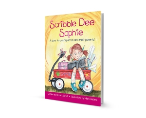 Scribble Dee Sophie 3D-book