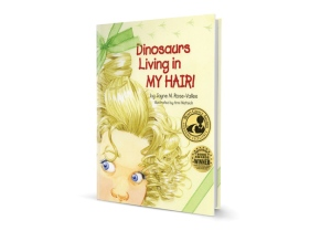 Dinosaurs Living in MY HAIR! 3D-book