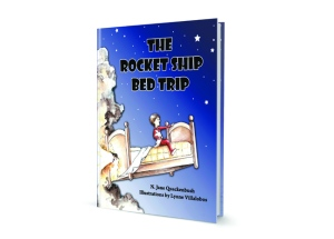The Rocket Ship Bed Trip 3D-book